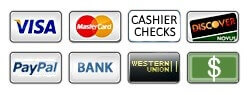 Payment Types Accepted