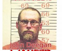 John Deegan Wanted Fugitive Lewistown Montana
