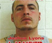 Joshua Lyons Wanted Fugitive