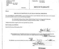Joshua Lyons Warrant