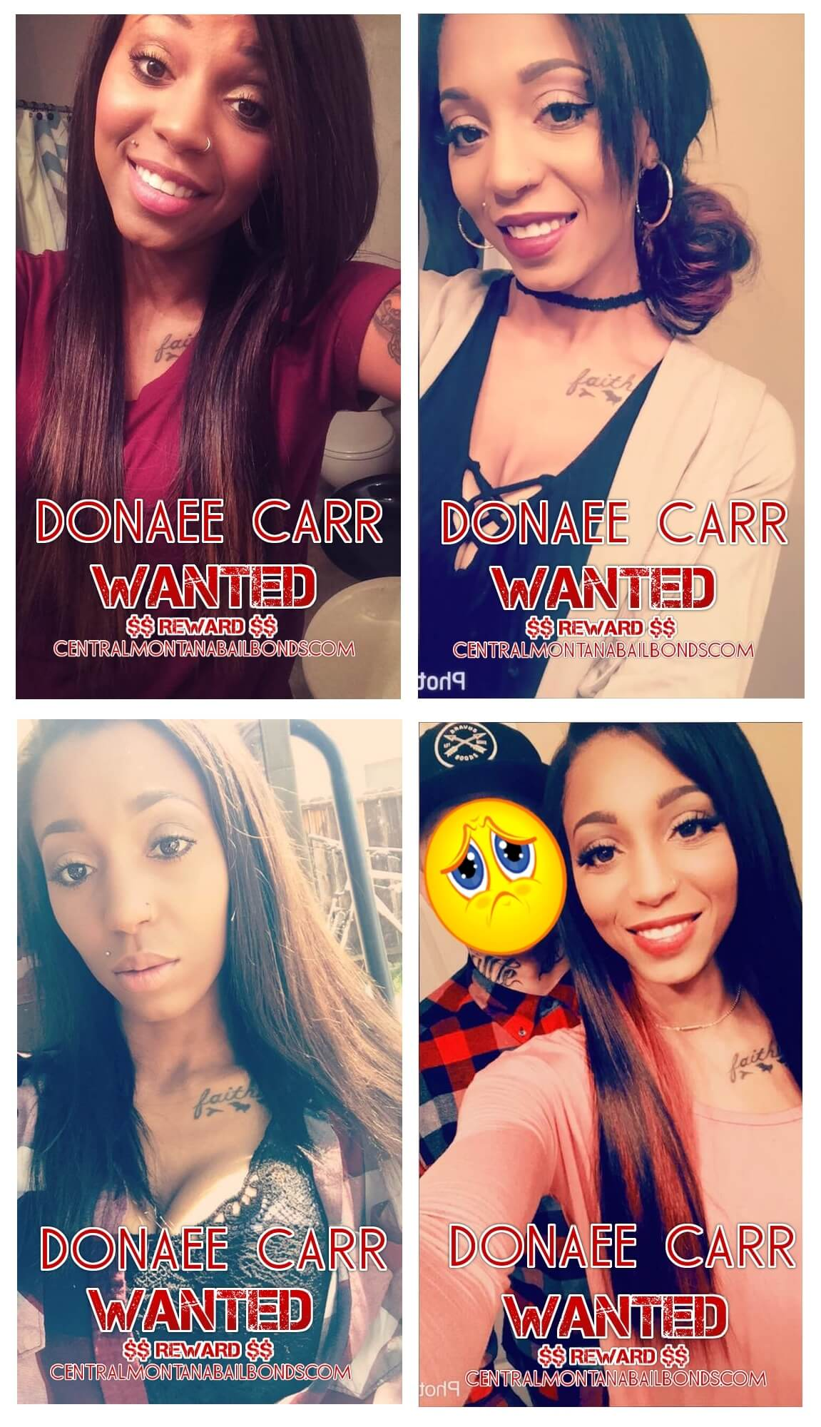 Donaee Carr Wanted Billings