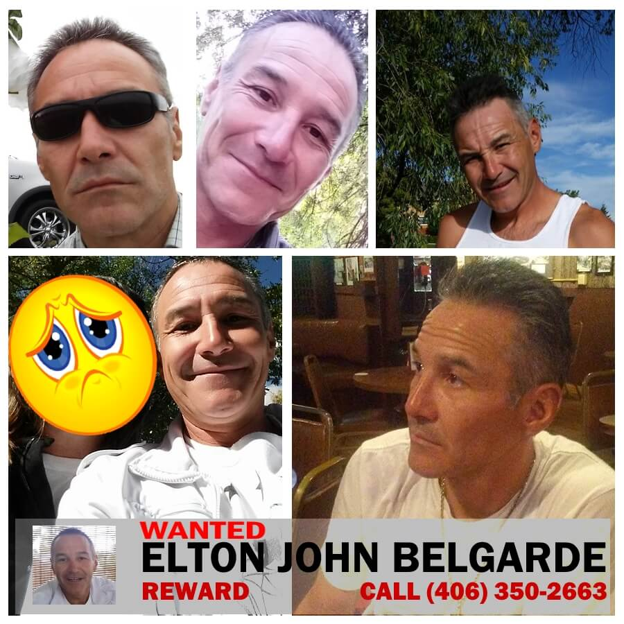 Elton John Belgarde Wanted Billings Montana