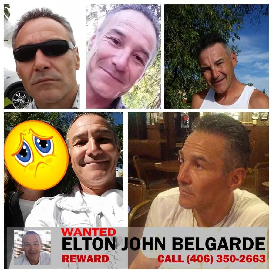 Elton John Belgarde Wanted Billings Montana