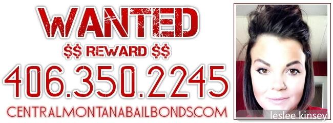 Leslee Kinsey Wanted Fugitive